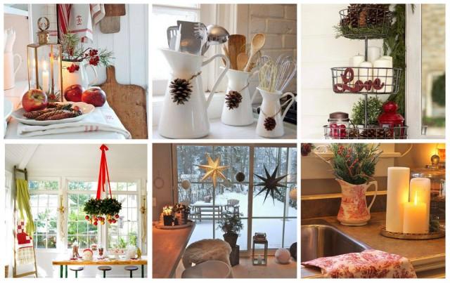 29 Ideen für weihnachtliche Küchen Dekoration - nettetipps.de