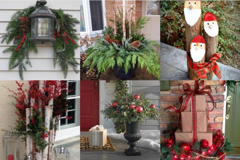 H bsche weihnachtliche diy dekorationen f r drau en for Garten weihnachtlich dekorieren