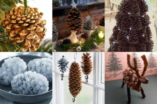 Weitere DIY Weihnachtsdeko Aus Zapfen