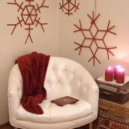 07 christmas wall decor ideas homebnc.jpg