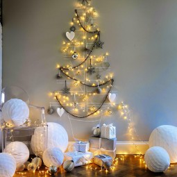 09 christmas wall decor ideas homebnc.jpg