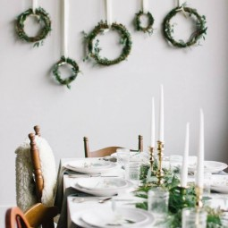 18 christmas wall decor ideas homebnc.jpg