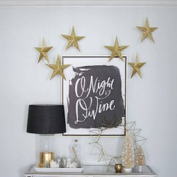 24 christmas wall decor ideas homebnc.jpg