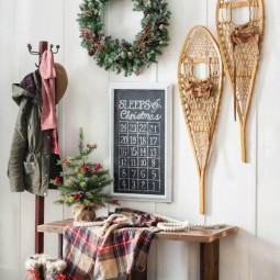 28 christmas wall decor ideas homebnc.jpg
