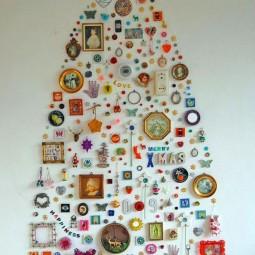 30 awesome christmas wall decor ideas 18.jpg