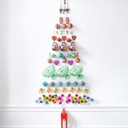 30 awesome christmas wall decor ideas 2.jpg