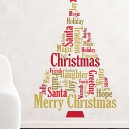 30 awesome christmas wall decor ideas 21.jpg