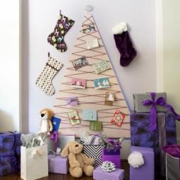30 awesome christmas wall decor ideas 23.jpg