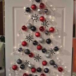 30 awesome christmas wall decor ideas 26.jpg