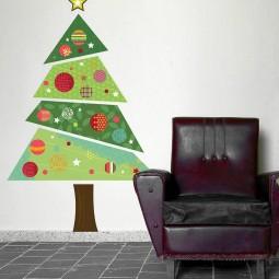 30 awesome christmas wall decor ideas 4.jpg