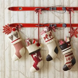32 christmas wall decor ideas homebnc.jpg