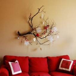 35 christmas wall decor ideas homebnc.jpg