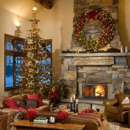 40 inspiring christmas decoration house 11.jpg