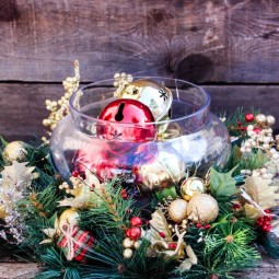 49 Best Christmas Table Settings - Decorations And Centerpiece inside Christmas Floral Table Decorations
