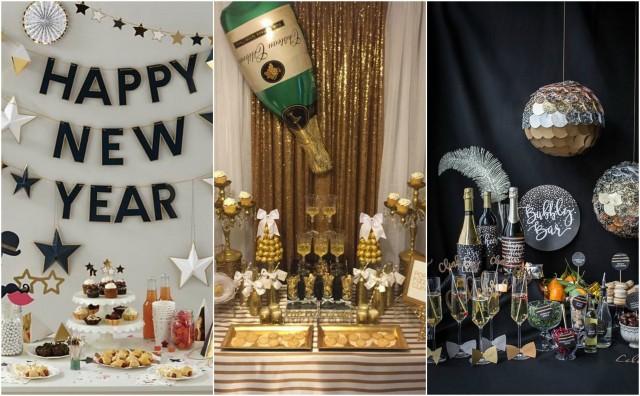 Party Deko für Silvester 2018 selber basteln - 12 coole Ideen ...