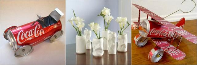15 recycling diy projekte aus cola dosen. Black Bedroom Furniture Sets. Home Design Ideas
