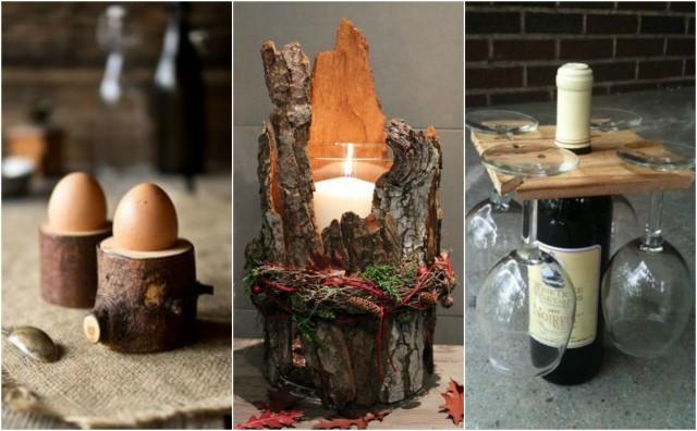 Basteln Mit Holz - 15 Kreative Ideen :) - Nettetipps.De