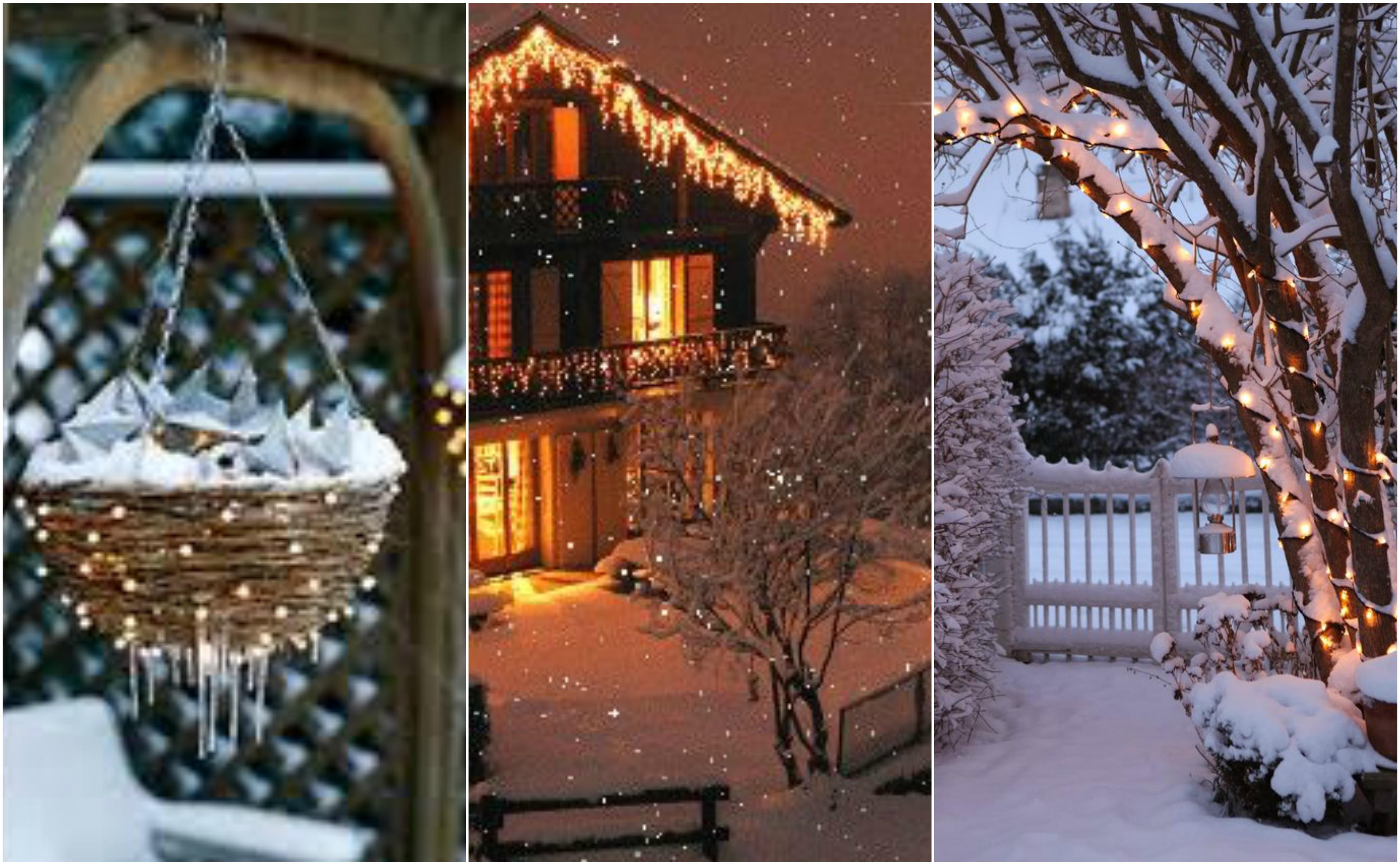 13 winterliche weihnachtsbeleuchtung f r euren garten - Weihnachtsbeleuchtung garten ...