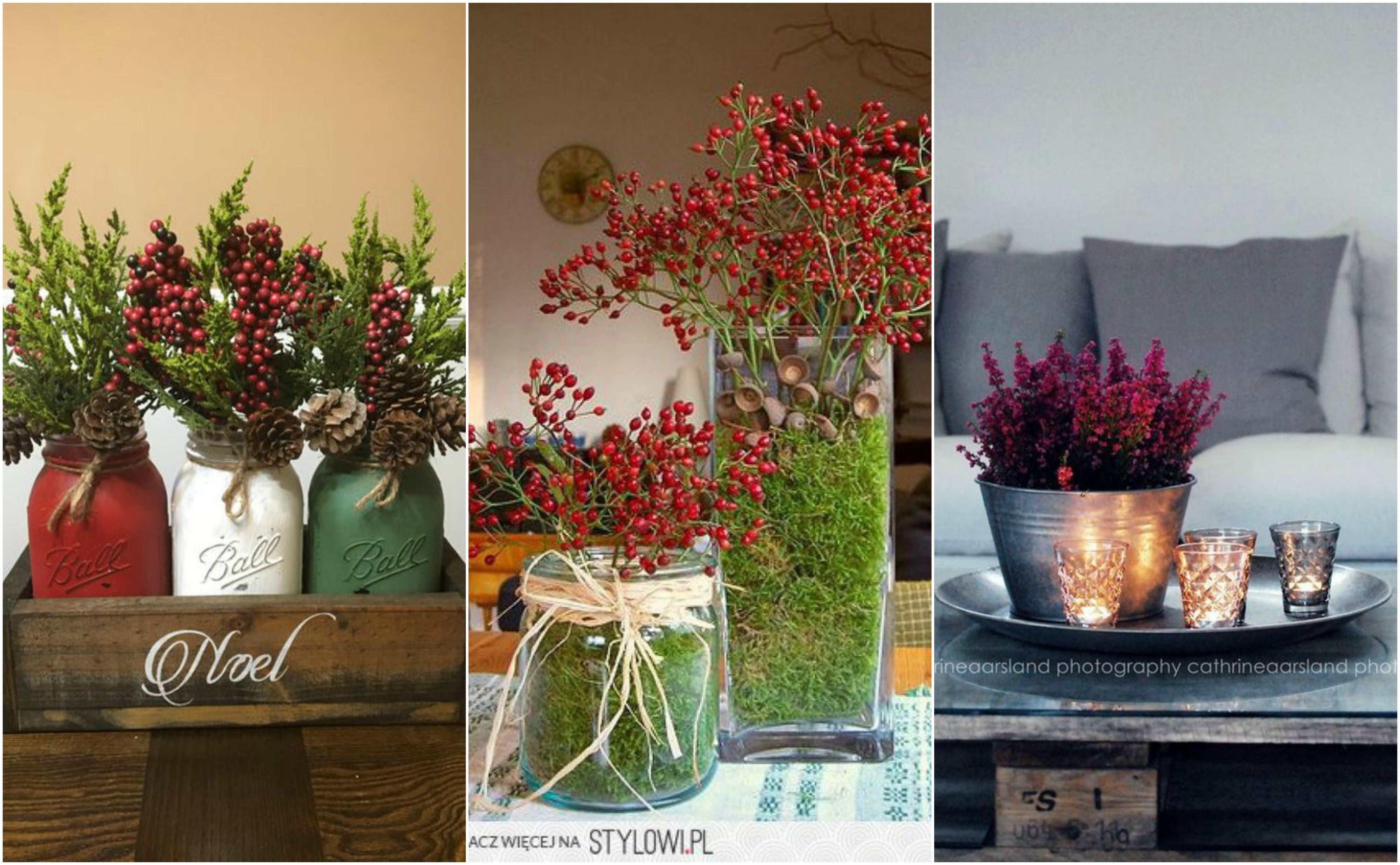 15 k nstliche weihnachtsdekos aus blumen. Black Bedroom Furniture Sets. Home Design Ideas