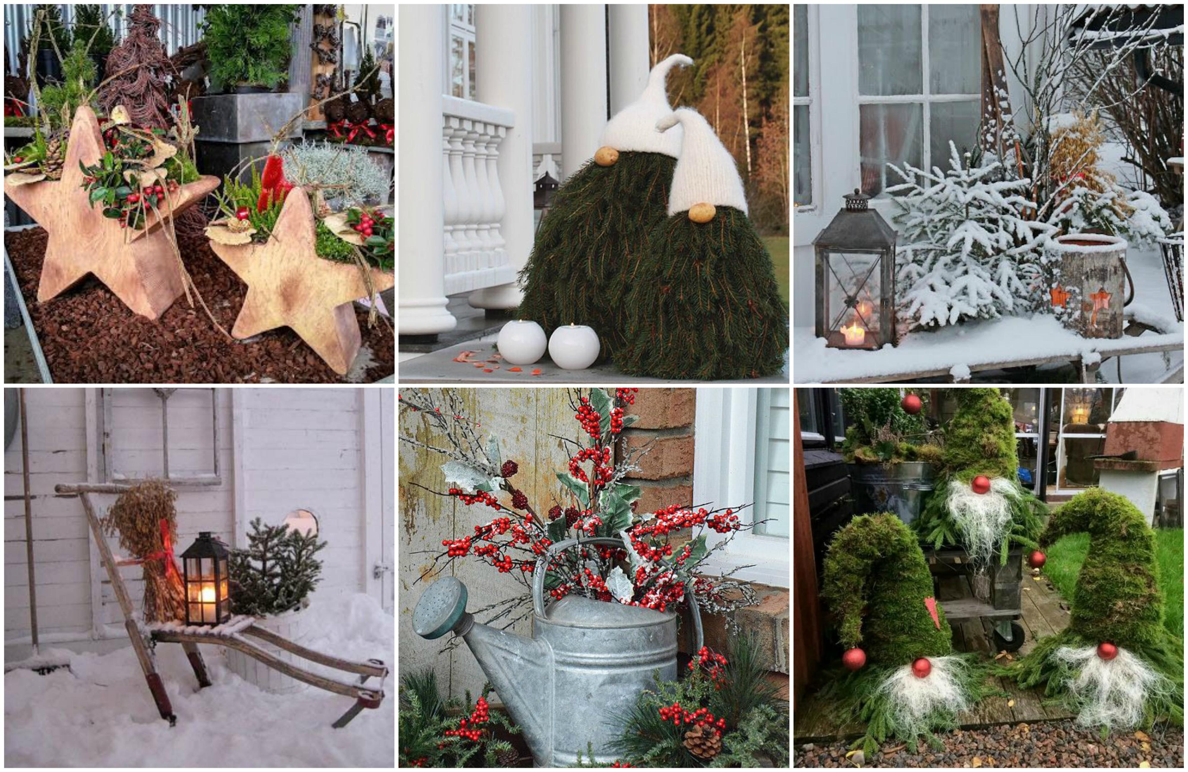 M rchenhafte weihnachtsdeko f r garten balkon 30 tolle for Wohnung dekorieren app