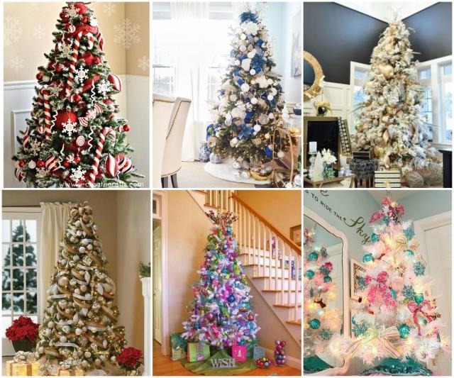 Weihnachtsbaum Dekorieren.Weihnachtsbaum Dekorieren 25 Festliche Ideen Für Jeden Geschmack
