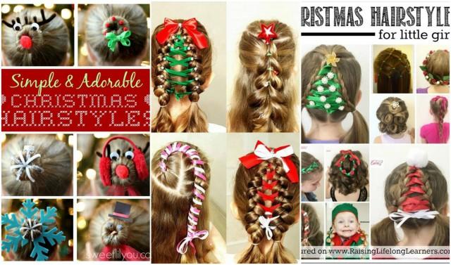 10 Frisuren Für Weihnachten Lustige Und Festliche Ideen Für Eure