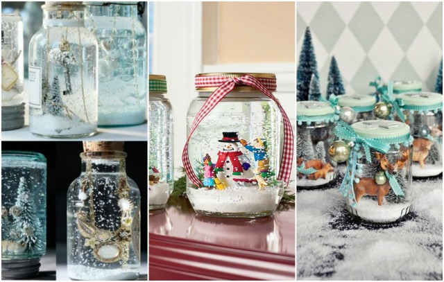 Winterliche DIY-Idee Für Eure Kinder: Schneekugeln Basteln