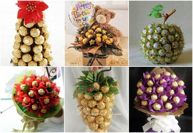 Ferrero Rocher Bouquet Valentines Diy Gifts