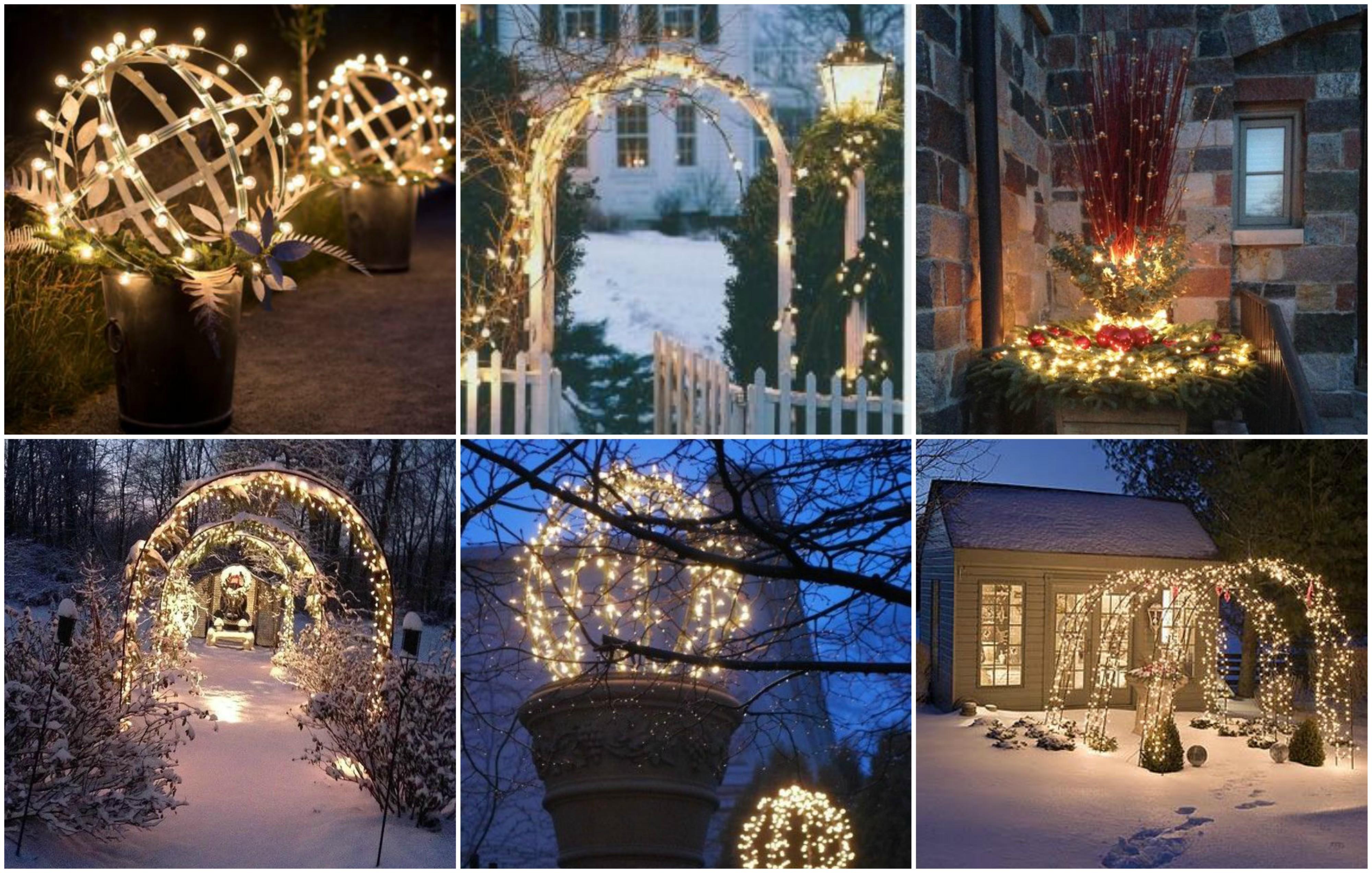 Leuchtende gartendeko im winter 15 m rchenhafte ideen for Gartendeko winter
