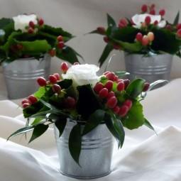 Christmas Flower Arrangements For Table Christmas Flower Table inside Christmas Floral Table Decorations