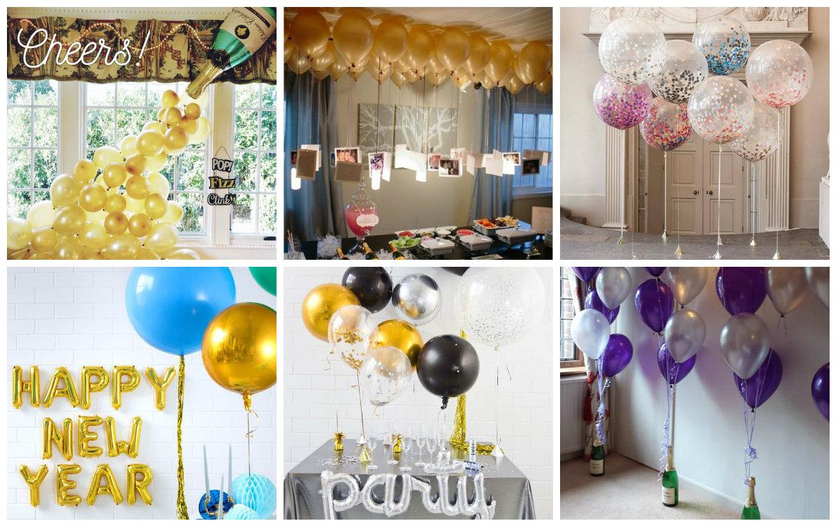 ballon dekoration f r coole party. Black Bedroom Furniture Sets. Home Design Ideas