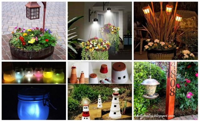 Solar lichter im garten aufpeppen und einmalige outdoor beleuchtung schaffen - Garten lichter ...