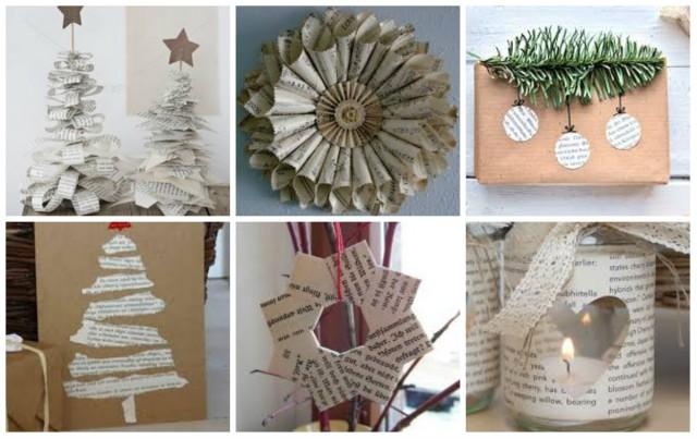 Deko Ideen Winter.13 Diy Winter Dekoration Ideen Aus Zeitungen Nettetipps De