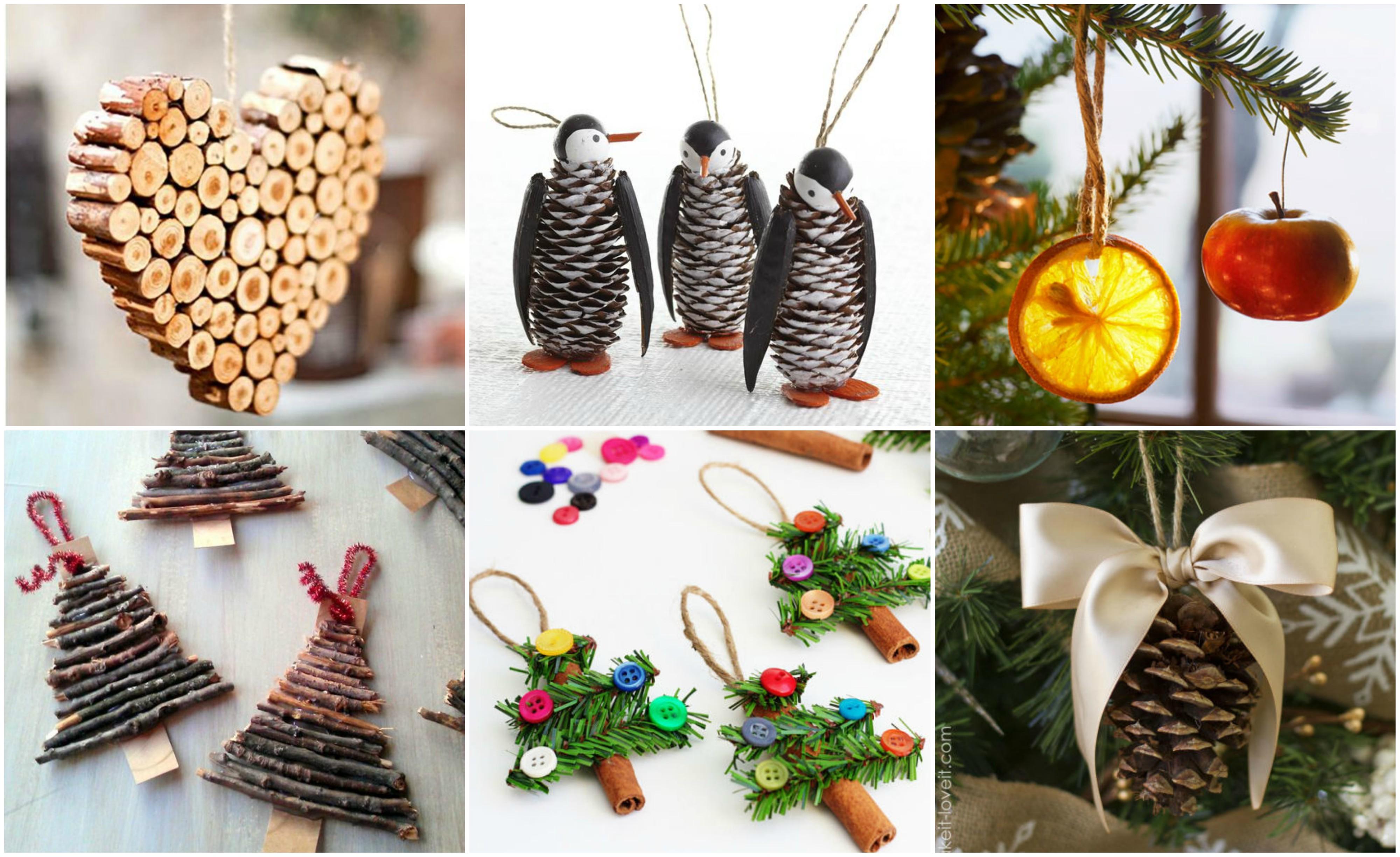 diy christbaumschmuck - 15 wunderschöne ideen aus