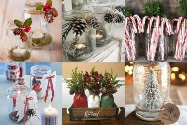 Weihnachtsdeko im einmachglas - Stylische weihnachtsdeko ...