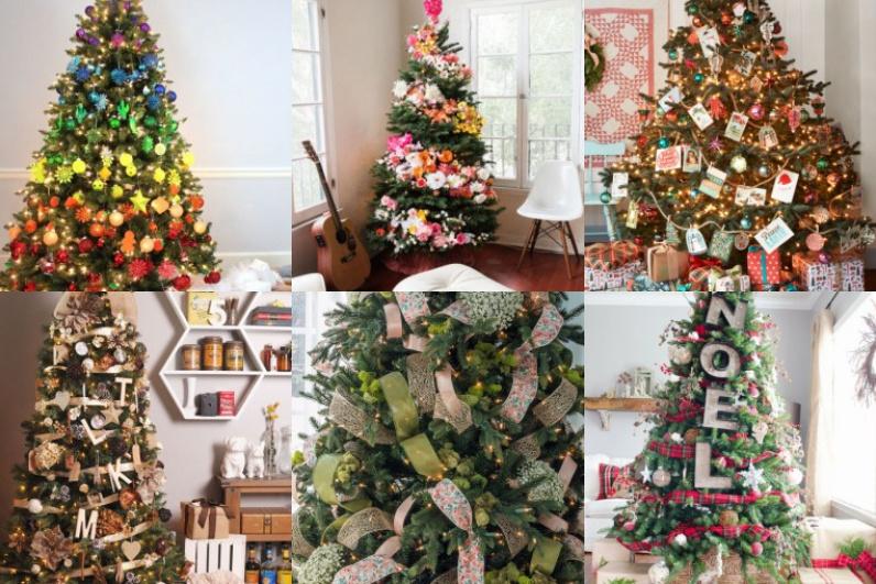 den weihnachtsbaum ein bisschen anders dekorieren. Black Bedroom Furniture Sets. Home Design Ideas