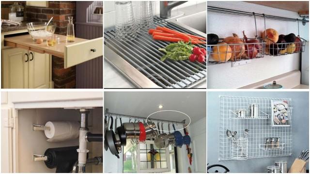 24 Hilfreiche Hacks-Produkte für kleine Küche - nettetipps.de