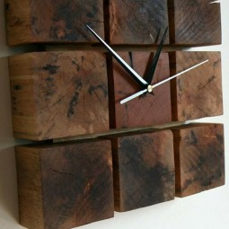 09 diy wall clock ideas homebnc.jpg