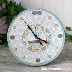 20 diy wall clock ideas homebnc.jpg