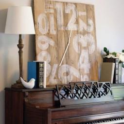 23 diy wall clock ideas homebnc.jpg
