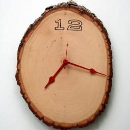 26 diy wall clock ideas homebnc.jpg