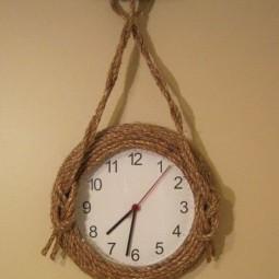 28 diy wall clock ideas homebnc.jpg