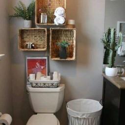 Stauraum Schaffen schicken stauraum schaffen in bad wc 15 platzsparende ideen