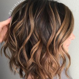8 wavy brown lob with caramel balayage.jpg