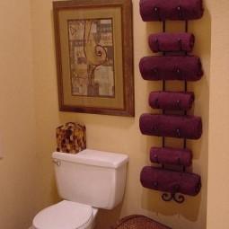 A wine rack as a vertical towel rack.jpg