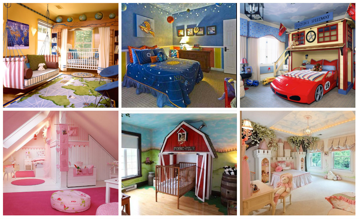 m rchenhaftes design ideen f r das kinderzimmer. Black Bedroom Furniture Sets. Home Design Ideas