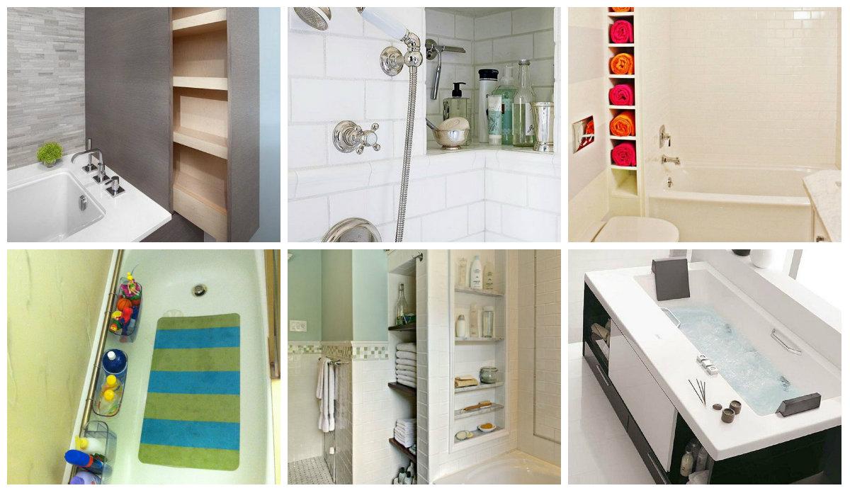 platzsparende badezimmer hacks. Black Bedroom Furniture Sets. Home Design Ideas
