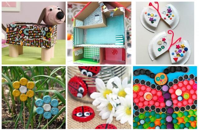 Kreative Upcycling Basteln Ideen Für Kinder Nettetipps De