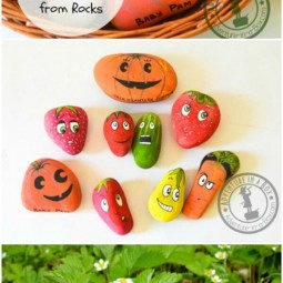 Diy home decor ideas with painted pebbles rocks 10.jpg