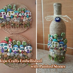 Diy home decor ideas with painted pebbles rocks 15.jpg